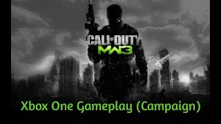Call of Duty: Modern Warfare 3 - Xbox One X Backwards Compatible Campaign Gameplay in 2018 (60FPS)