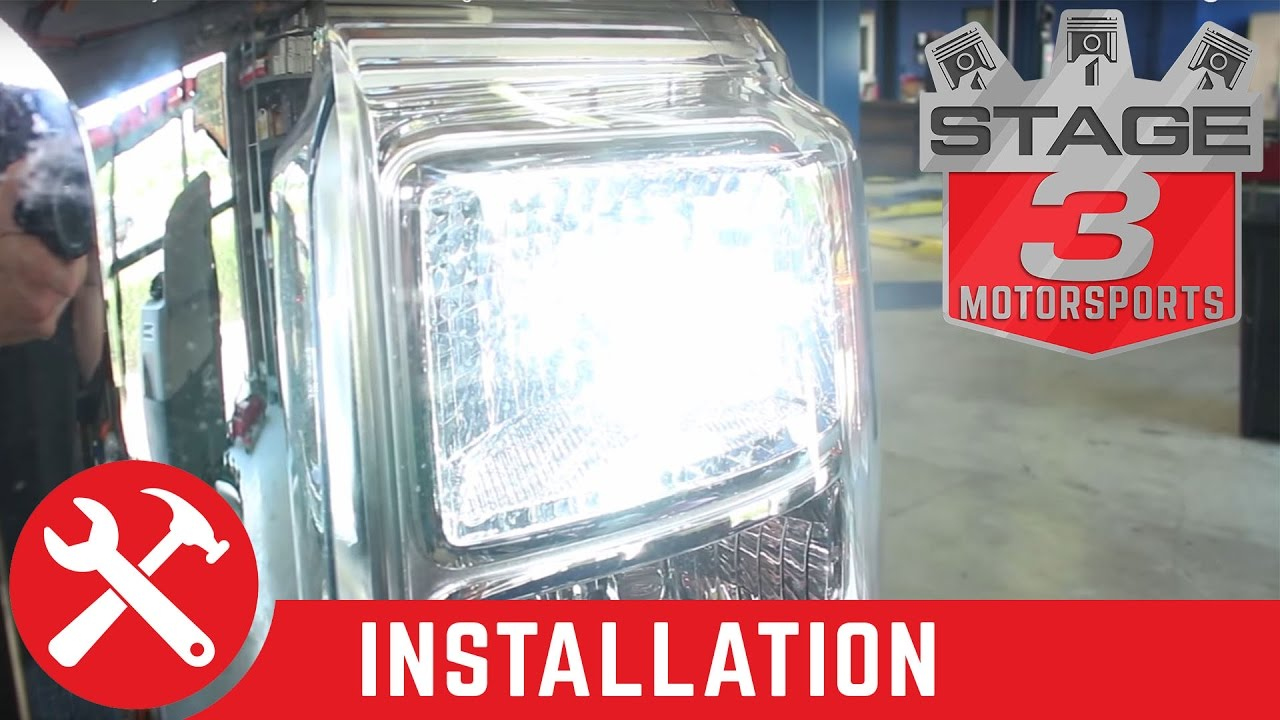 2011 2014 F 250 350 Diode Dynamics Front Switchback Turn Signal Emergency Light Switch With Relay For And Pictures Install