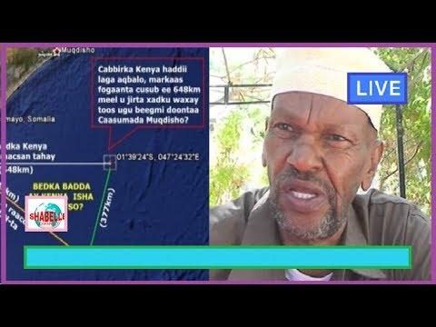 WAR CULUS; Somaliland Oo Difaacday Somalia Si Adagna Uga Hadashay Muranka Badda Kenya Iyo Somalia