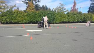ICBC Motorcycle Skills Test