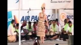 Miss Heilala contestant - Losaline Toutai's Tau'olunga