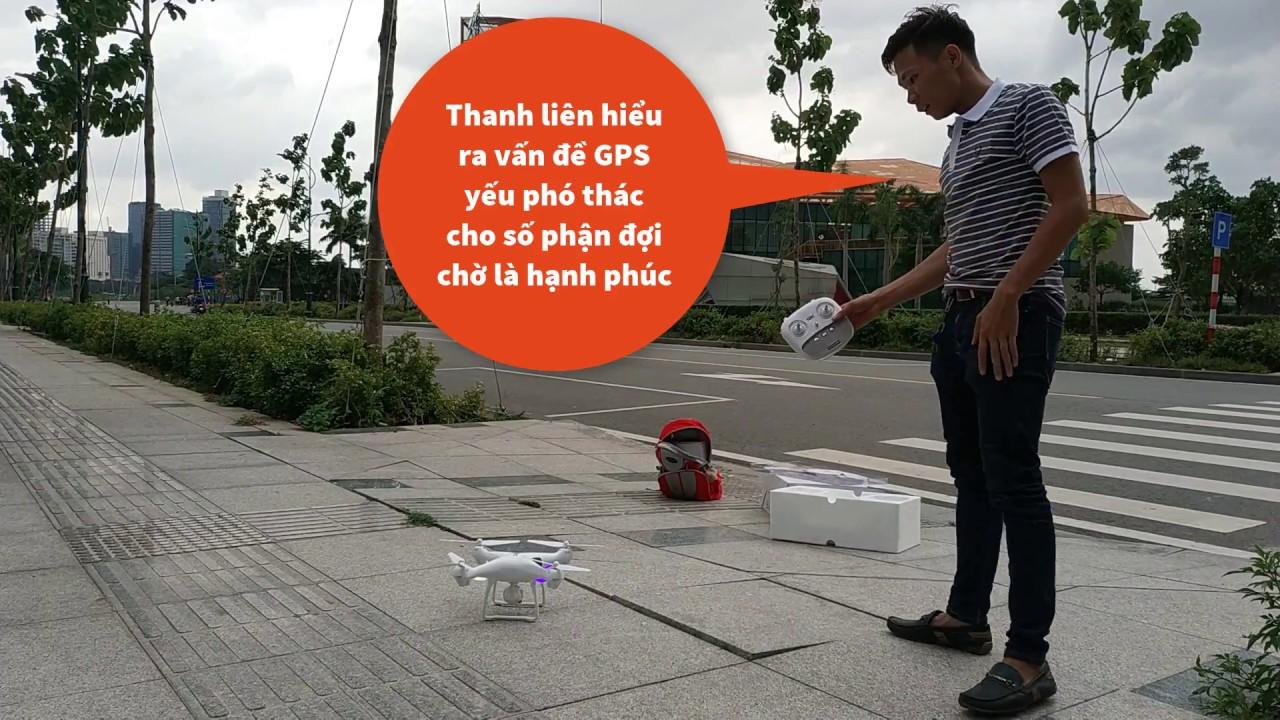 Quá Nhọ Cho Thanh Niên Lần Đầu Bay Thử Flycam S70W Giá Rẻ