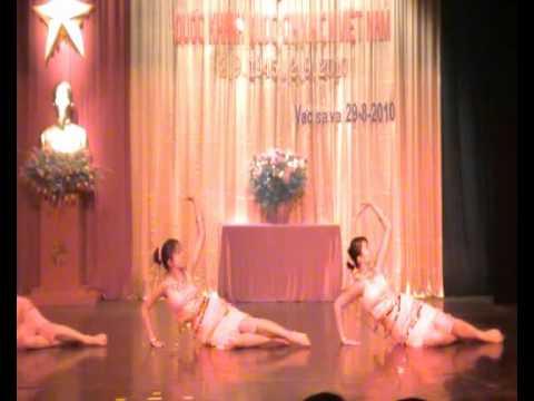 """Múa """"Những cô gái cao nguyên"""" - Nhóm múa các cháu cộng đồng"""