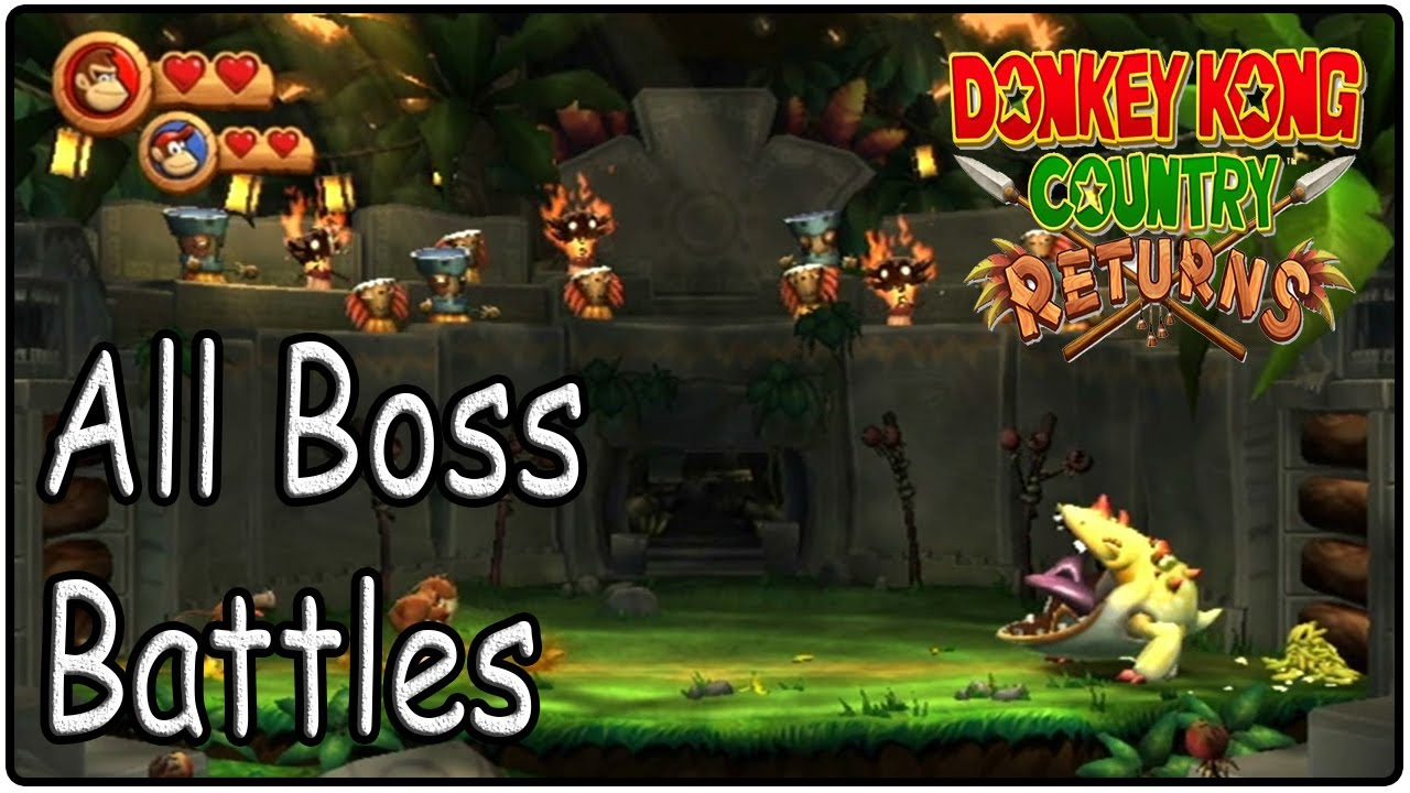 Donkey kong country bosses - photo#21