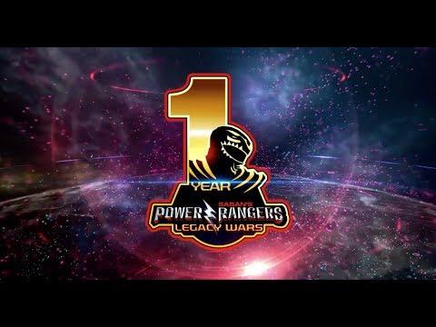Power Rangers: Legacy Wars  - 1 Year Anniversary