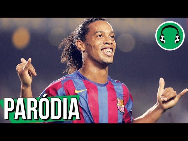 ? RONALDINHO canta VOU TE DIBREI | Paródia Vamos Beber - Dennis DJ feat. João Lucas & Marcelo