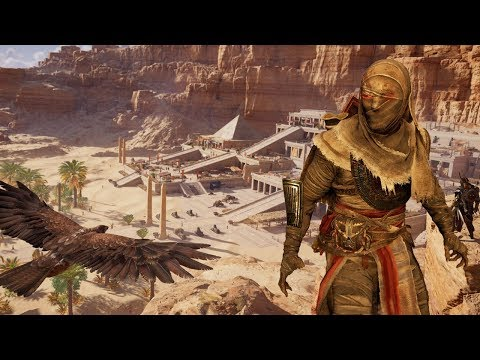 Assassin's Creed Origins New Game Plus - Talking Curse of the Pharaohs (AC Origins New Game Plus)