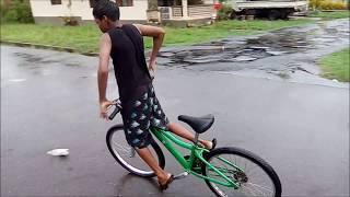 Rain Drifting (bike drifting)