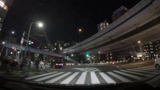 Driving in Japan: A Tokyo Night Drive