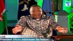 President Uhuru Kenyatta defends his UHC programme and affordable housing project