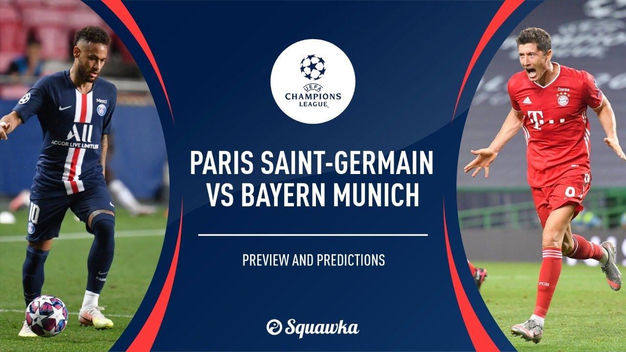 Live Psg Vs Bayern Munich Champions League Final 2020 Live Score And Latest Updates From Lisbon Youtube