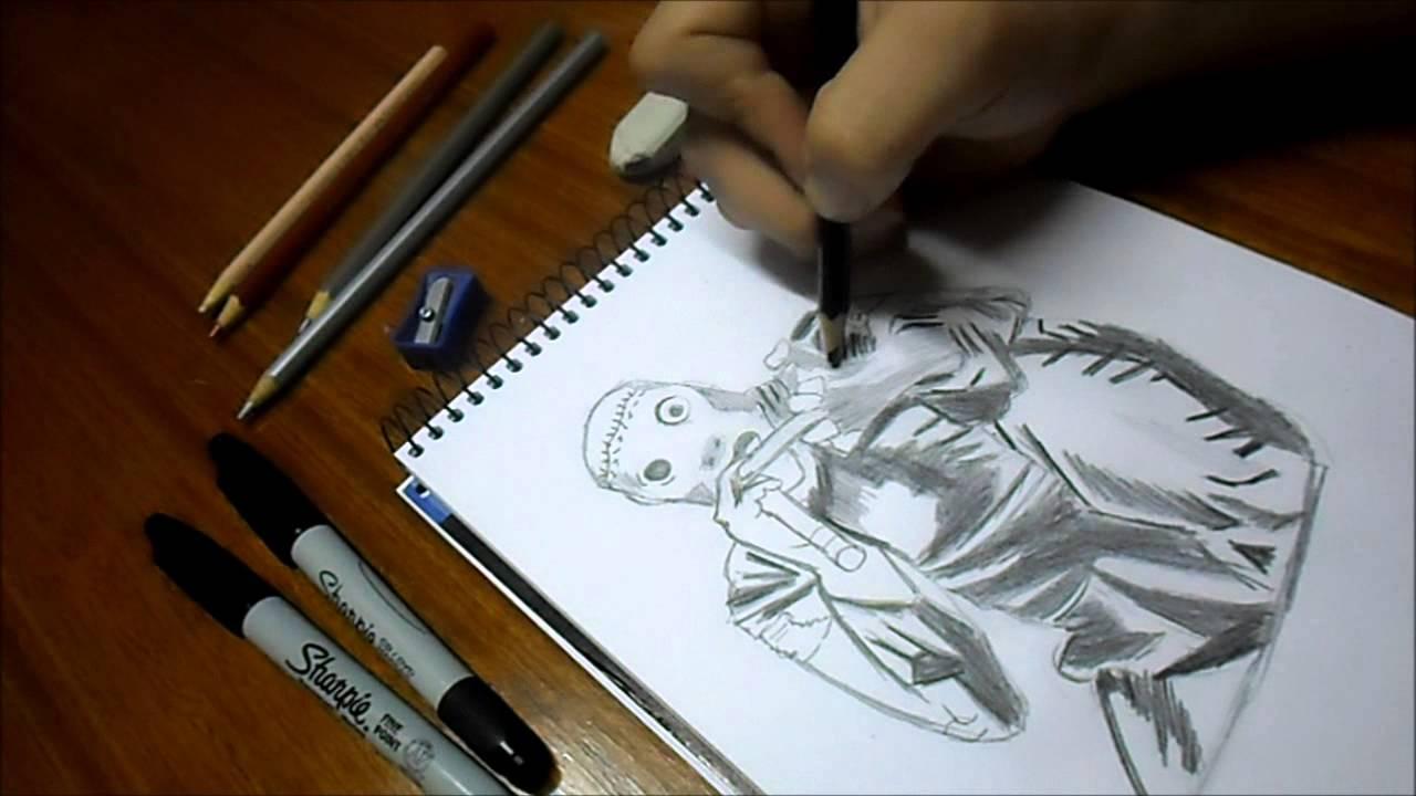 Dibujando A Corey Taylor Slipknot