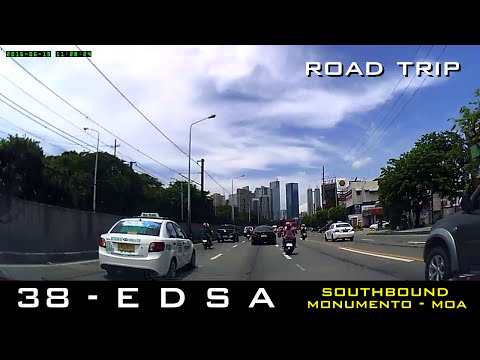 Road Trip #38 - EDSA End-to-end (Southbound, Monumento to SM