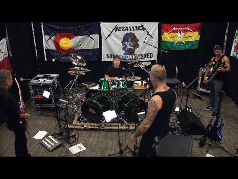 Metallica That Was Just Your Life Tuning Room ORLANDO JUL 05 2017