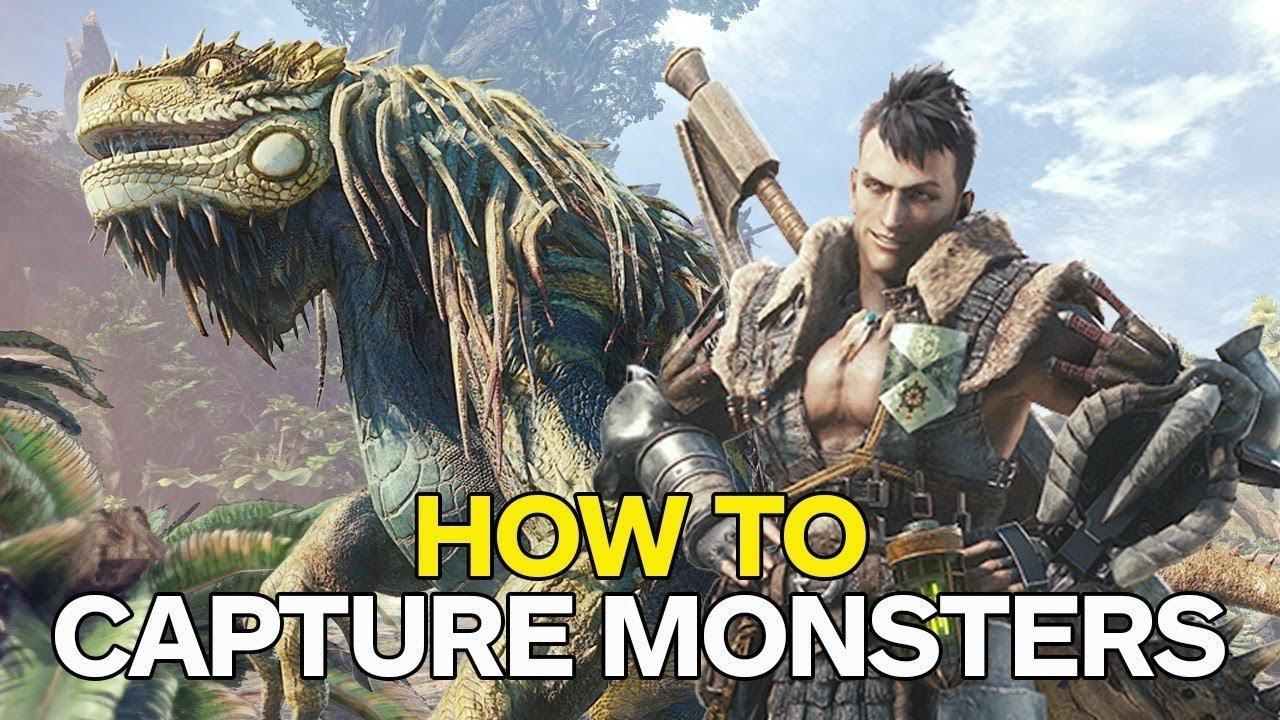 Monster Hunter World – How to Capture a Monster