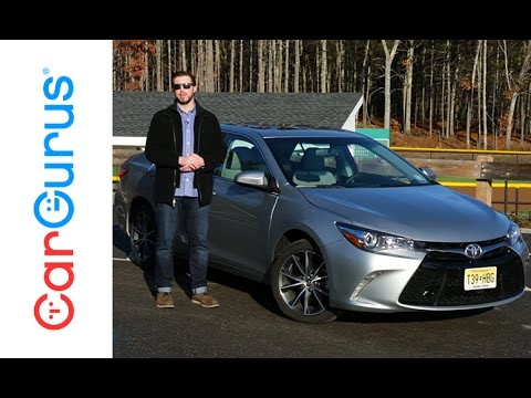 2017 toyota camry cargurus test drive review youtube. Black Bedroom Furniture Sets. Home Design Ideas