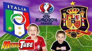 Predicción ITALIA - ESPAÑA Octavos de Final Euro Copa 2016 Francia