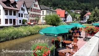 Fachwerkstadt Schiltach im Kinzigtal im Schwarzwald