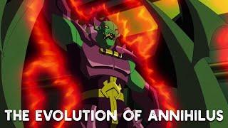 Эволюция Аннигилуса В Кино и Мультсериалах