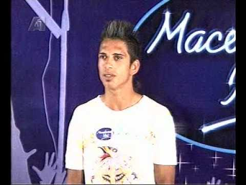 Macedonian Idol  Daniel Mustafovski Seksi Zena