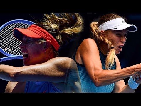 Sharapova Vs Wozniacki | Australian Open 2019 - Full Match
