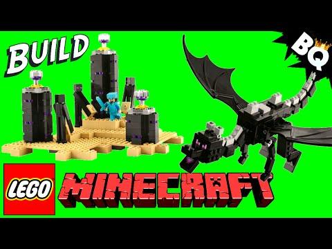 Drangon/Minecraft Enderdragon Action Figure - How To ... Rainbow Loom Minecraft Ghast