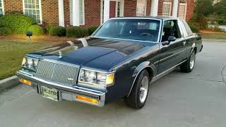 87 Buick Regal Limited,  Gary J