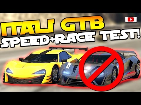 GTA 5 Online Import/Export Update: 🔥😲Itali GTB Custom Speed + Race Test!🔥😲 [VS Nero, RE-7B uvm!]