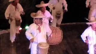 Вечернее представление в парке Шкарет Мексика .(Evening show at Xcaret Park Mexico)