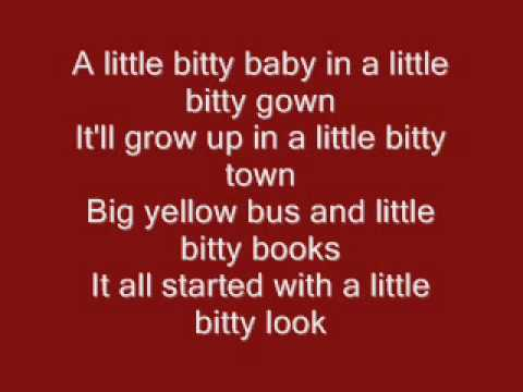 Alan Jackson - Little Bitty