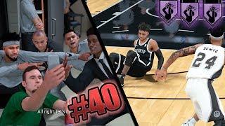NBA 2k18 MyCAREER - HOF Difficult Shots Unlocked! D'Angelo Russell Trash Talk + Ankle Breaker! Ep 40