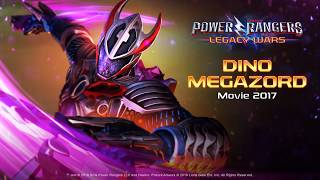 Power Rangers: Legacy Wars (Movie 2017) Dino Megazord (Moveset)