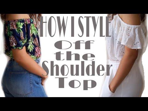 how-i-styel-|-off-the-shoulder-top-/-オフショル-コーデ