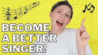 QUICK TIPS TO BECOME A BETTER SINGER! | FROM A PROFESSIONAL SINGER | Georgie Ashford