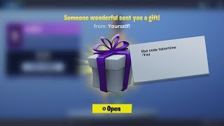 """How To Send Someone A GIFT In Fortnite Battle Royale"" - How Gifting REALLY Works! (Système de dons)"