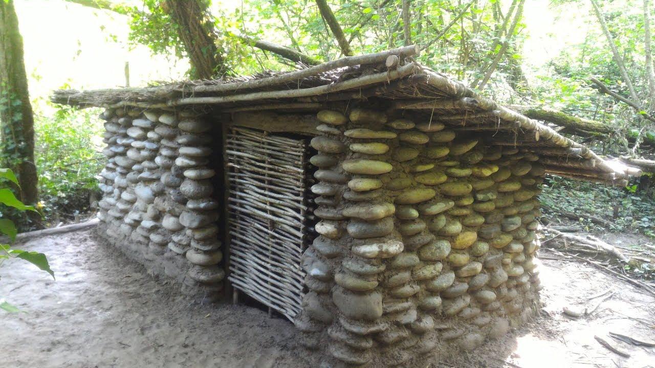 construction d une cabane en pierre