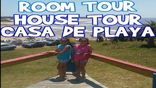 ROOM TOUR - HOUSE TOUR - CASA DE PLAYA PUNTA DEL DIABLO URUGUAY
