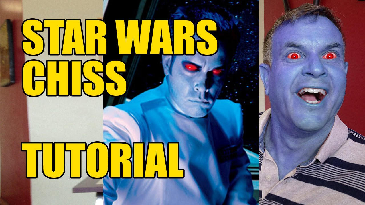 Star Wars Chiss Photoshop Tutorial Youtube