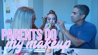DAD DOES MY MAKEUP