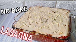 How to Cook No Bake Lasagna | No Bake Lasagna