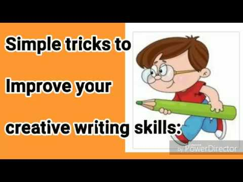 Simple tricks to Improve Creative Writing Skills #StayHome #LearnEnglish #WithMe