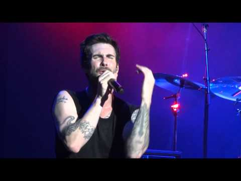 Maroon 5 - The Man That Never Lied live on Overexposed Tour Sydney Entertainment Centre 13/10/12