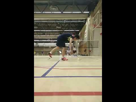 Playing Badminton In Brussels VUB