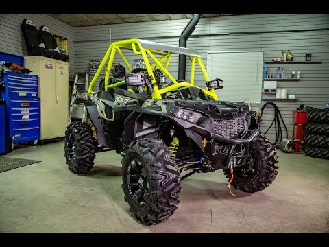 Polaris Ace XC 900 Build Project  Intro