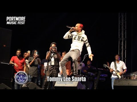 Tommy Lee Sparta DISS Alkaline AT PORTMORE MUCIS FEST