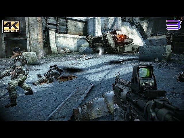 RPCS3 PS3 Emulator - Killzone 2 Ingame / Gameplay 4k 2160p! VULKAN (3eb2bca + WIP)