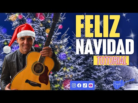 FELIZ NAVIDAD - HOW TO PLAY - GUITAR CHORDS
