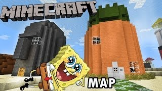 Minecraft Spongebob / Bikini Bottom World (Map Tour)