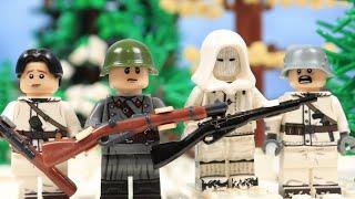 Lego WW2 Winter war 1939: Soviets invaded Finland (part 3)