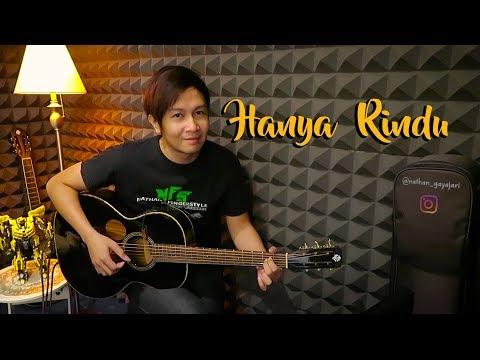 Andmesh - Hanya Rindu (Nathan Fingerstyle Cover) + Chord